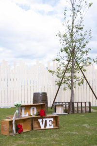 高さ約15メートルのツリー